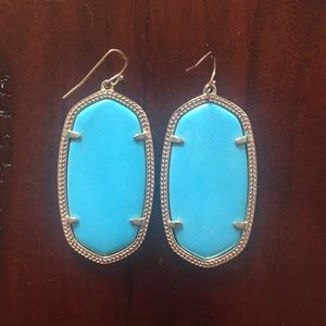 Kendra Scott Elle Earrings, Turquoise